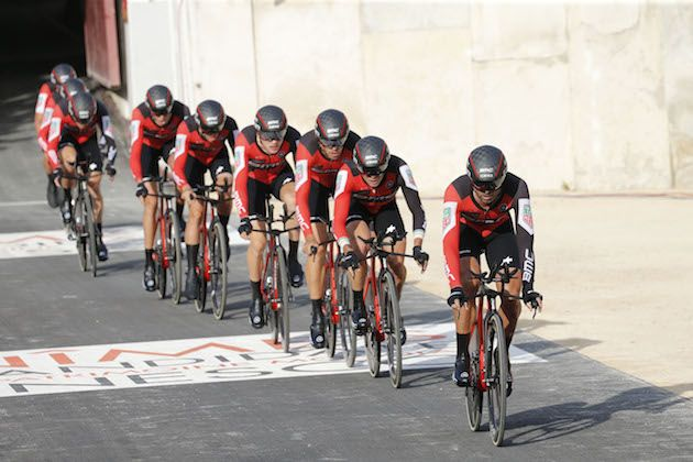 BMC Racing wins team time trial to open Spanish Vuelta