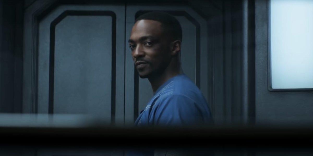 Anthony Mackie in Captain America: Civil War