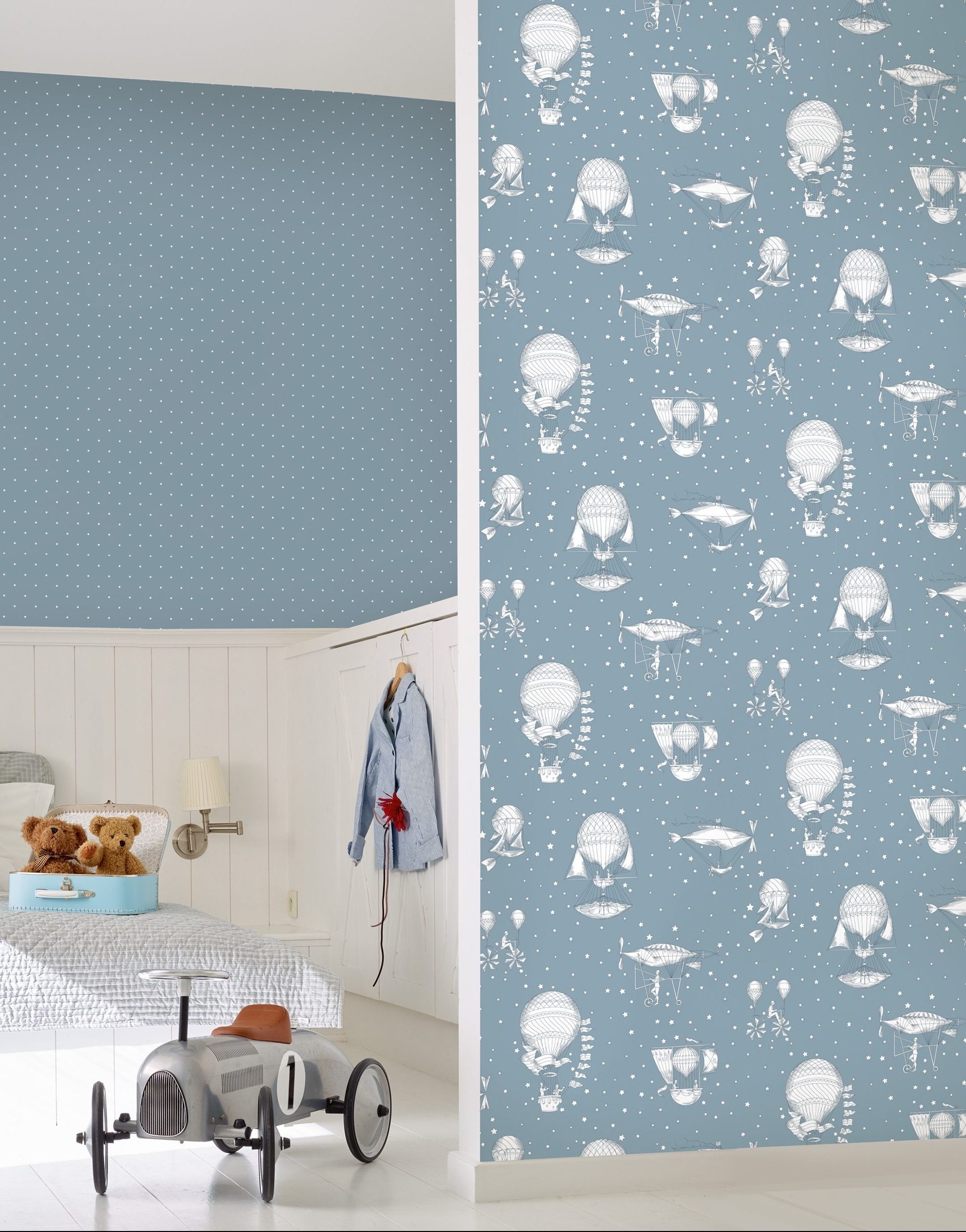 35 fun and funky wallpapers for kids rooms galerie jack n rose junior vintage balloons wallpaper jr3004 2995 from john lewis gumiabroncs Image collections