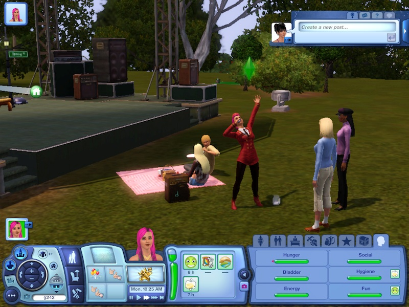 The Sims 3 Showtime Expansion Pack Review: Music, Magic And Acrobatics #21033