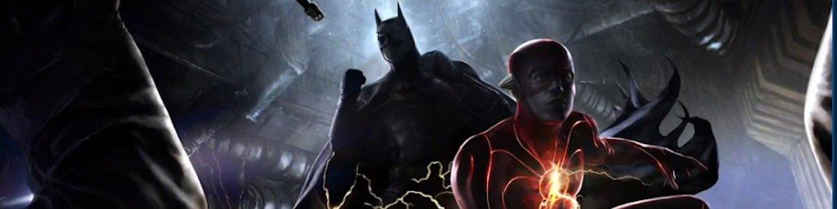 Batman Flash concept art