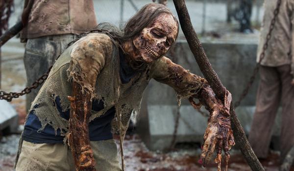 the walking dead season 8 premiere walker