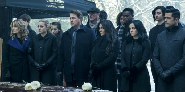 riverdale cast funeral season 2 the cw