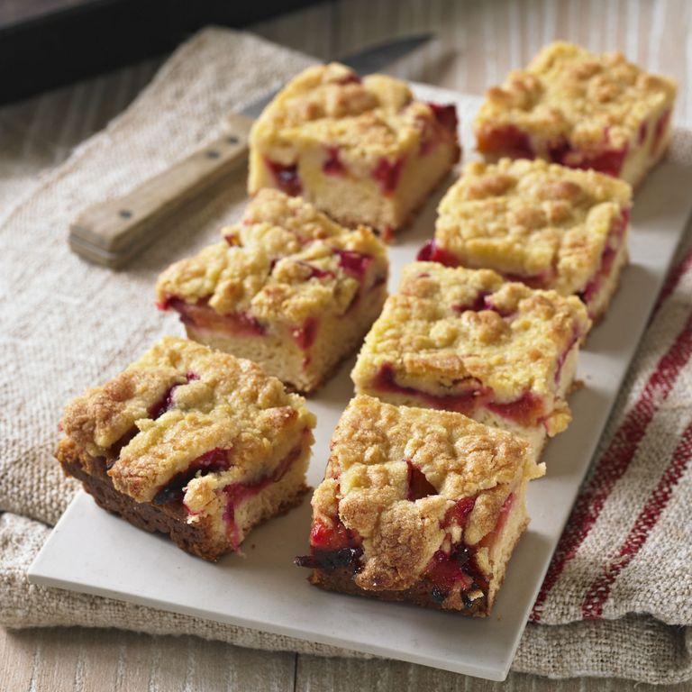 Plum and marzipan cake recipe-cake recipes-recipes-recipe ideas-new recipes-woman and home