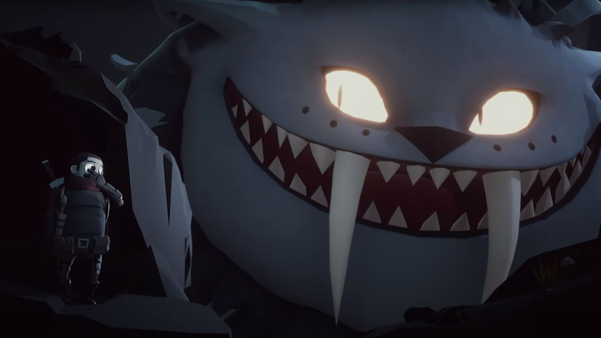 Little Devil Inside's beautiful new trailer is filled with giant monsters and one tiny little dump