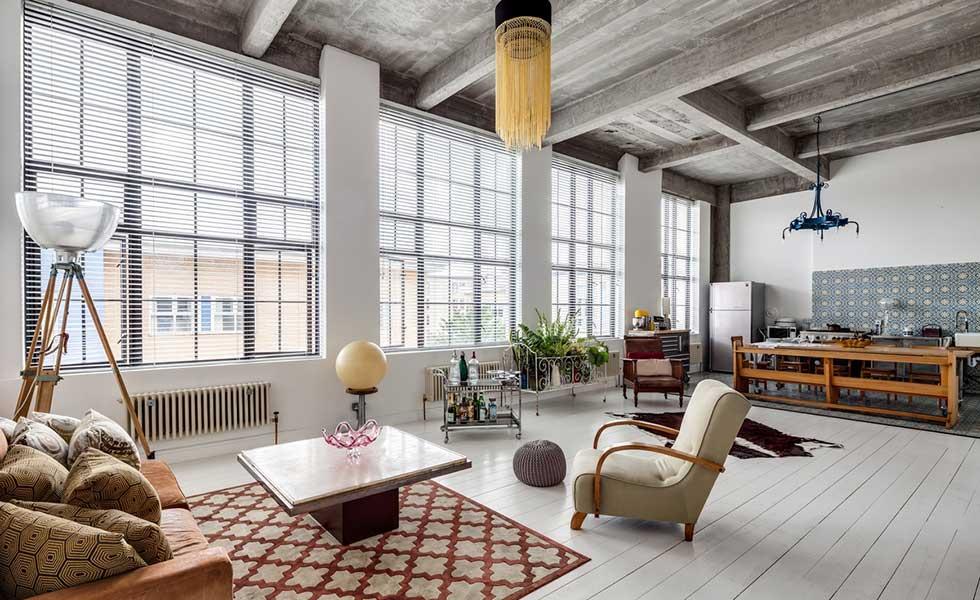 Modern loft apartment in London