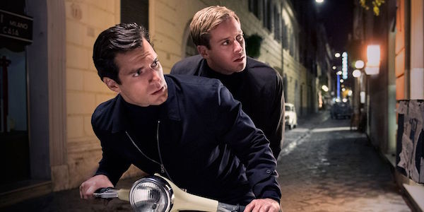 Henry Cavill and Armie Hammer in The Man From UNCLE