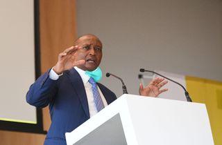 Dr Patrice Motsepe during the Dr Patrice Motsepe Manifesto