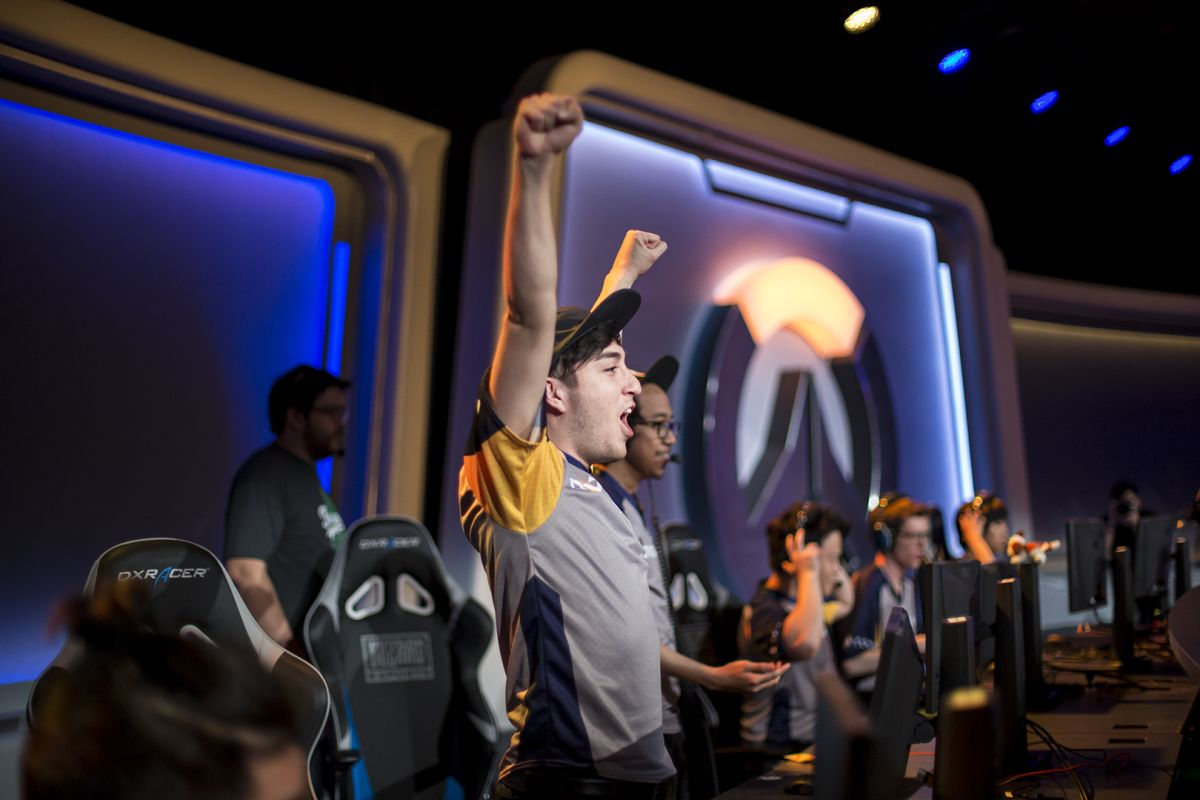 At the Overwatch Collegiate Championship young players dream of making big money as pros