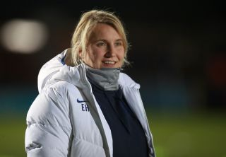 Emma Hayes refuses to separate sport and the drive for social change (Adam Davy/PA)