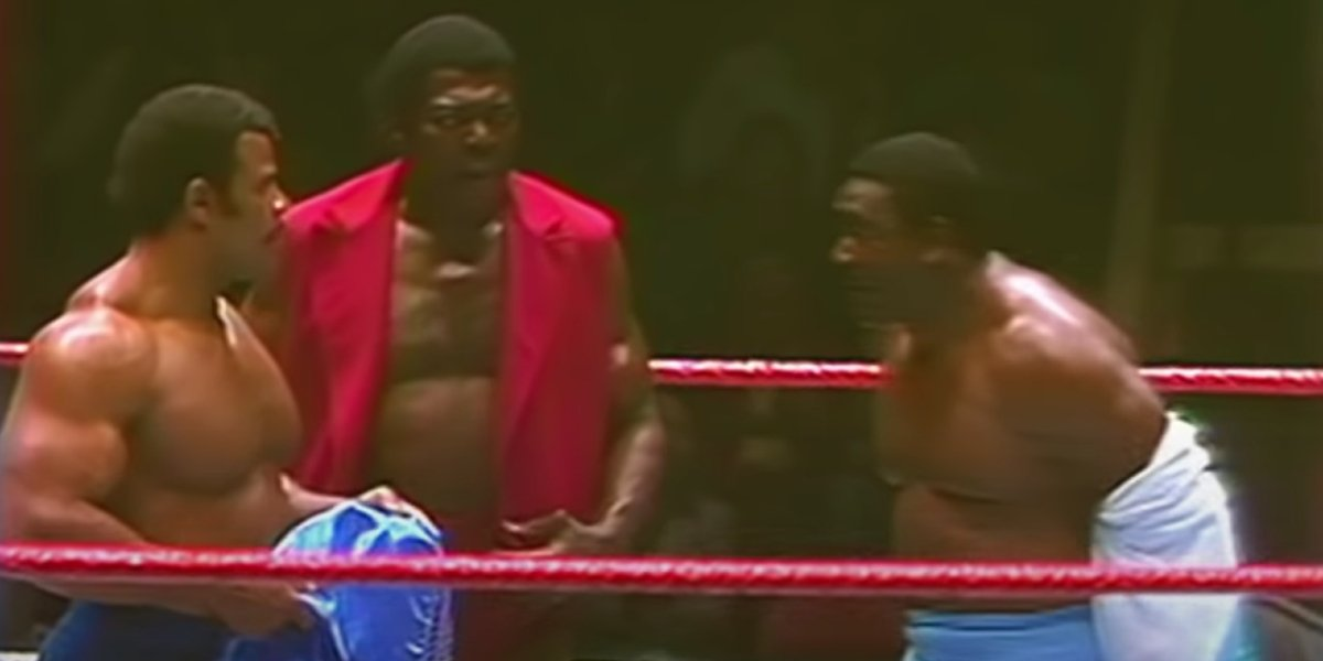 Rocky Johnson, Bobo Brazil, and S.D. Jones