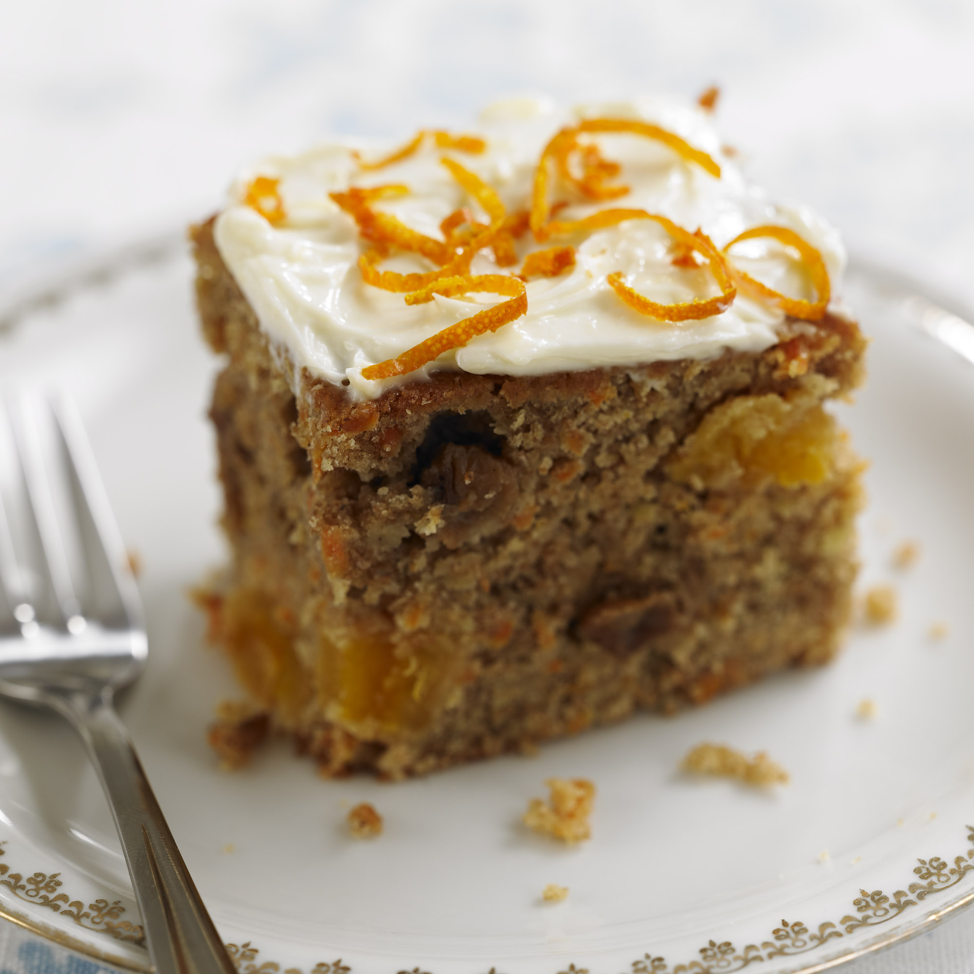 Carrot Apricot And Raisin Cake Dessert Recipes Woman Amp Home
