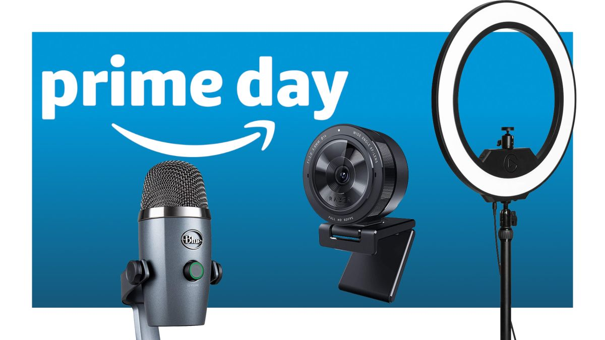 Get started as a Twitch streamer with these Amazon Prime Day deals on microphones, cameras, and gear