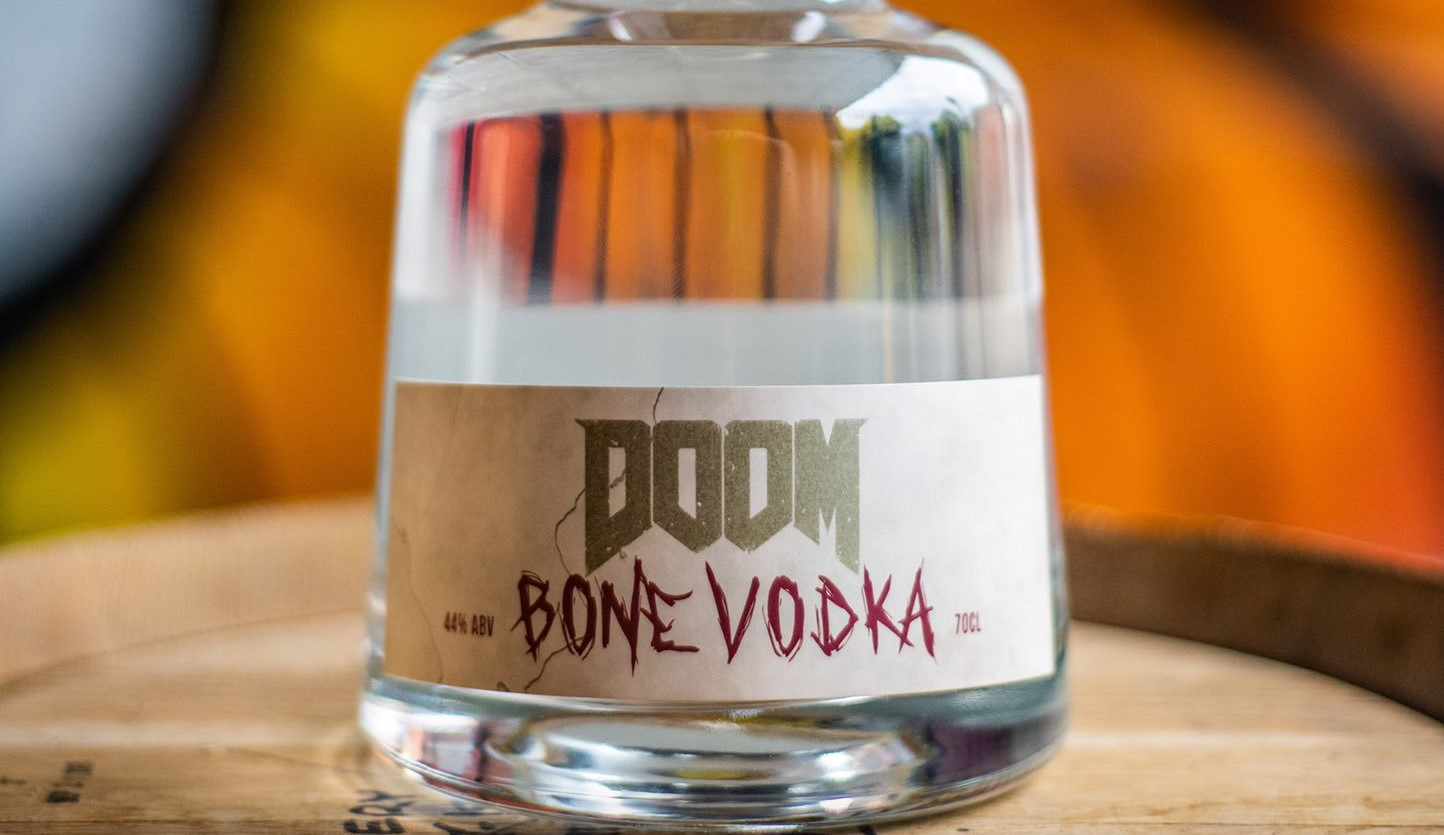 Doom is getting an officially licensed 'bone vodka' | PC Gamer