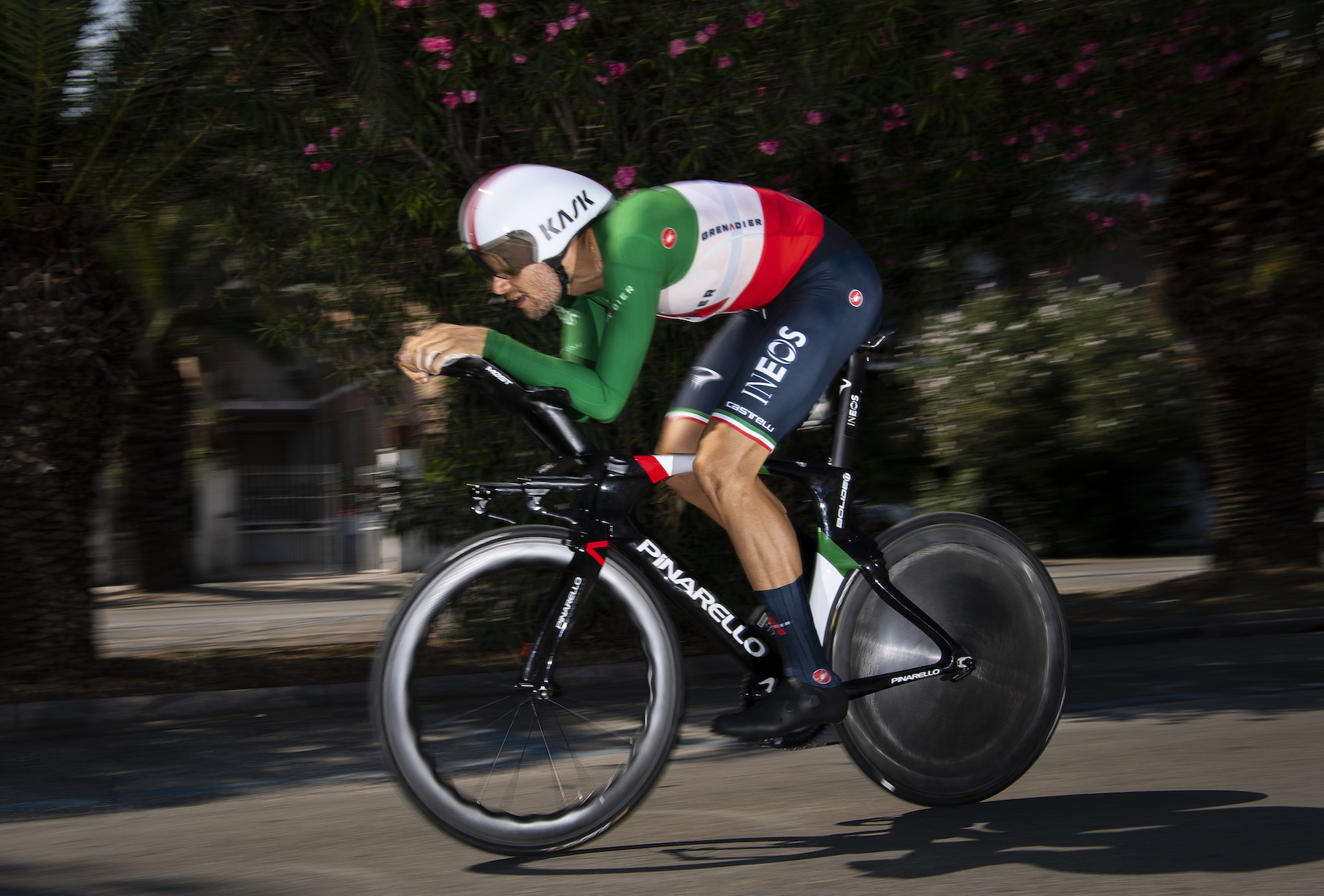 Imola 2020 Road World Championships: Filippo Ganna destroys rivals in men's time trial as Rohan Dennis knocked into fifth - Cycling Weekly