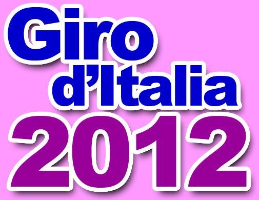 Giro d'Italia 2012 logo