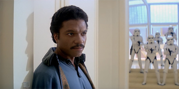 Lando Calrissian in The Empire Strikes Back