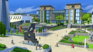 which sims 4 university