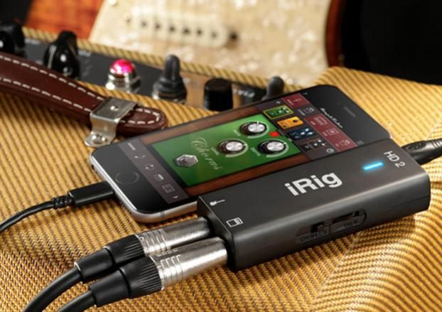 gear review ik multimedia irig hd 2 digital guitar interface guitarworld. Black Bedroom Furniture Sets. Home Design Ideas