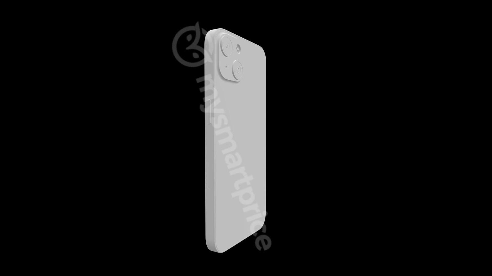 iPhone 13 отрисовывается обратно