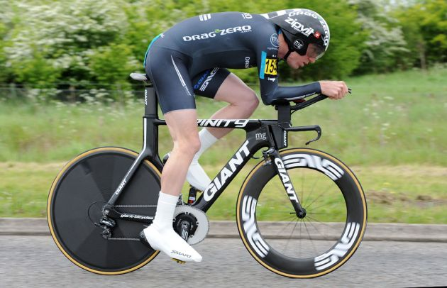 Matt Bottrill, second, National 10-mile time trial championships 2012