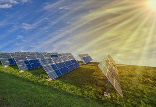 Solar energy concept image.