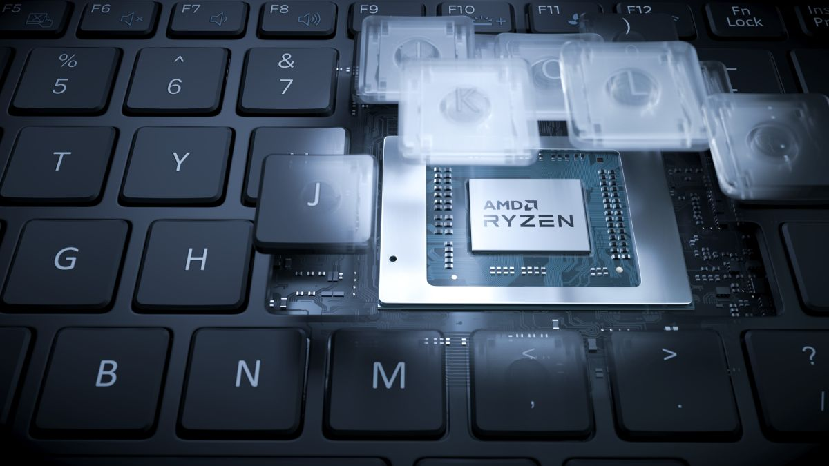 Wow, this new AMD Ryzen laptop CPU can run Crysis even without a cooler