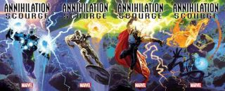 nova, beta ray bill, silver surfer and more spin out of Annihilation: Scourge event