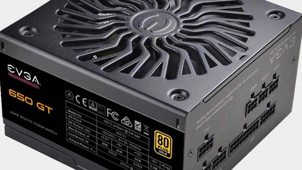 Power up your PC with EVGA's Supernova 650W 80 Plus Gold PSU for just