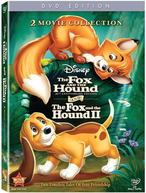 The Fox And The Hound Celebrate With 30th Anniversary Blu-Ray #17114