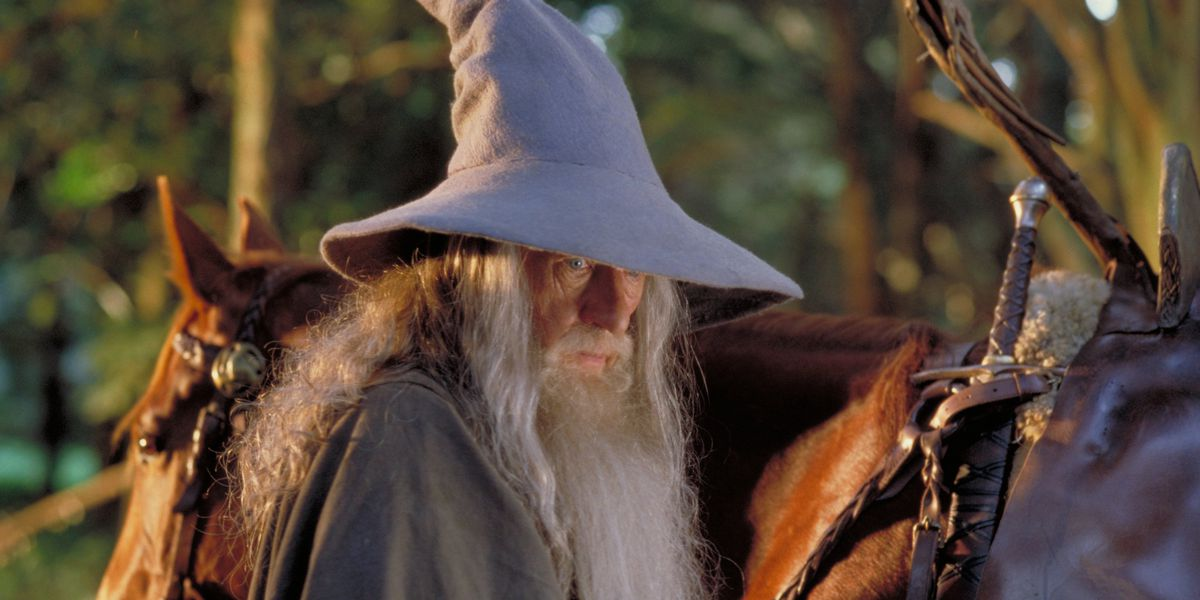 Gandalf in the legendary Lord of the Rings series.