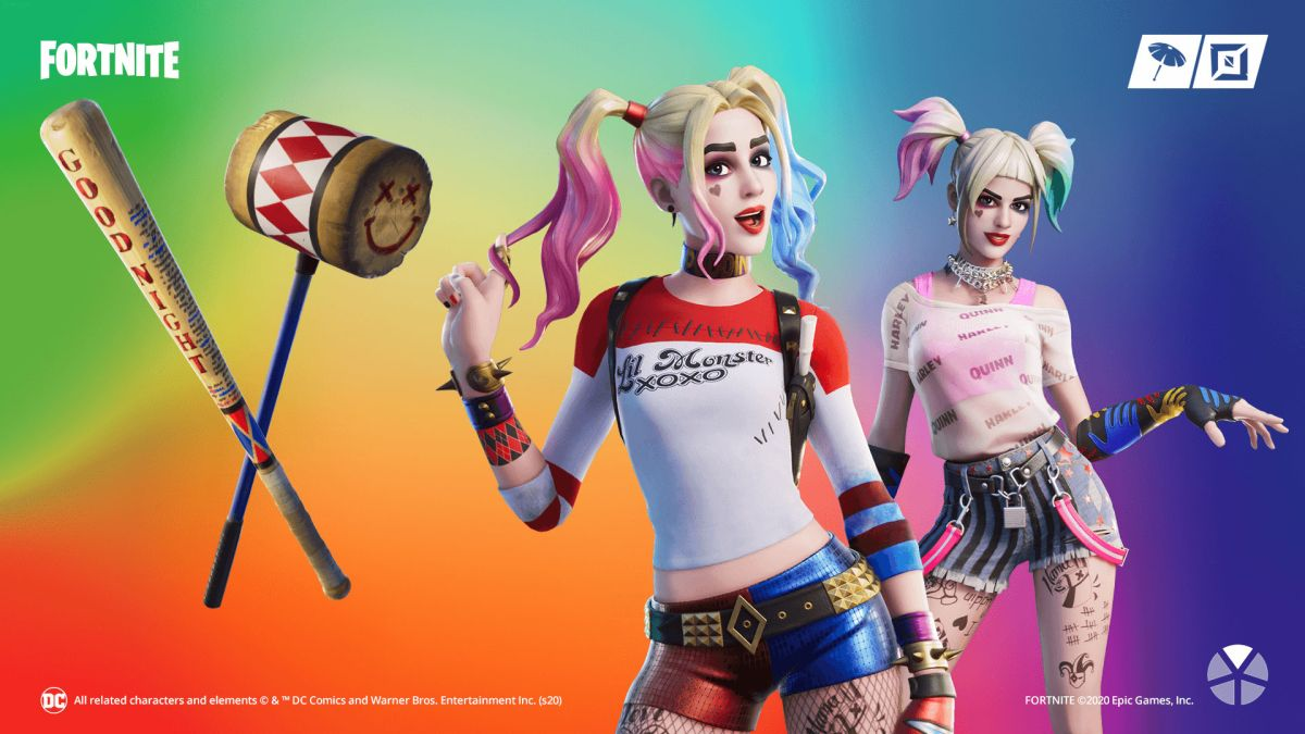 Fortnite Harley Quinn Challenges How To Unlock The Always Fantabulous Style For The Birds Of Prey Skin Gamesradar