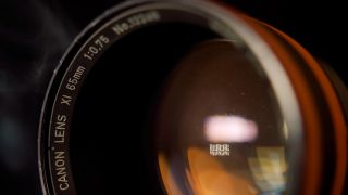 Canon 65mm f/0.75 X-Ray lens