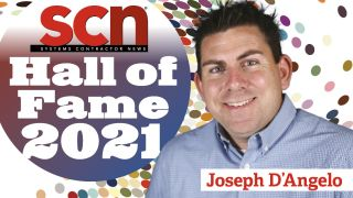 Joey D'Angelo SCN Hall of Fame 2021