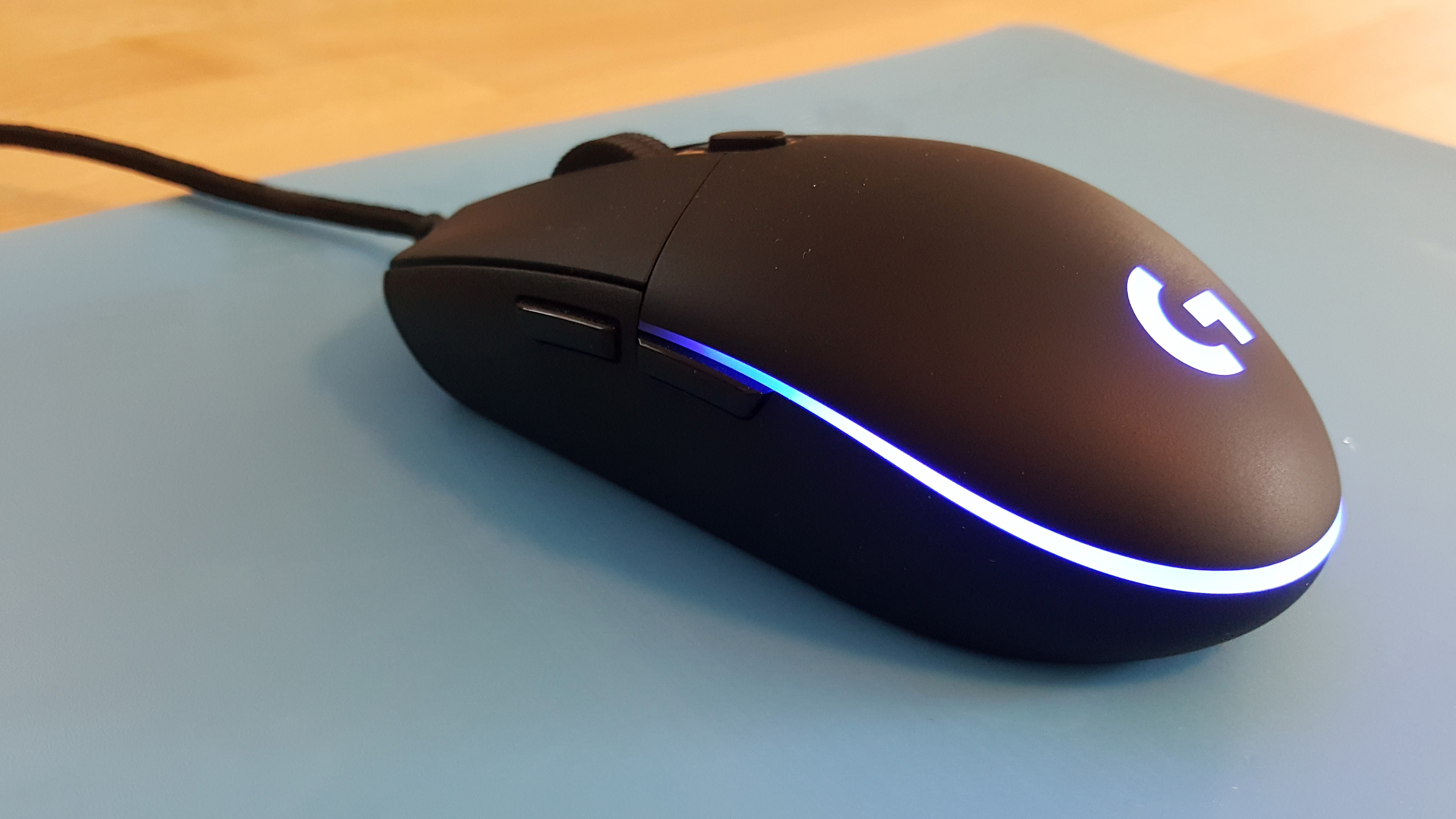 Logitech Pro Gaming Mouse Review Pc Gamer Logitec