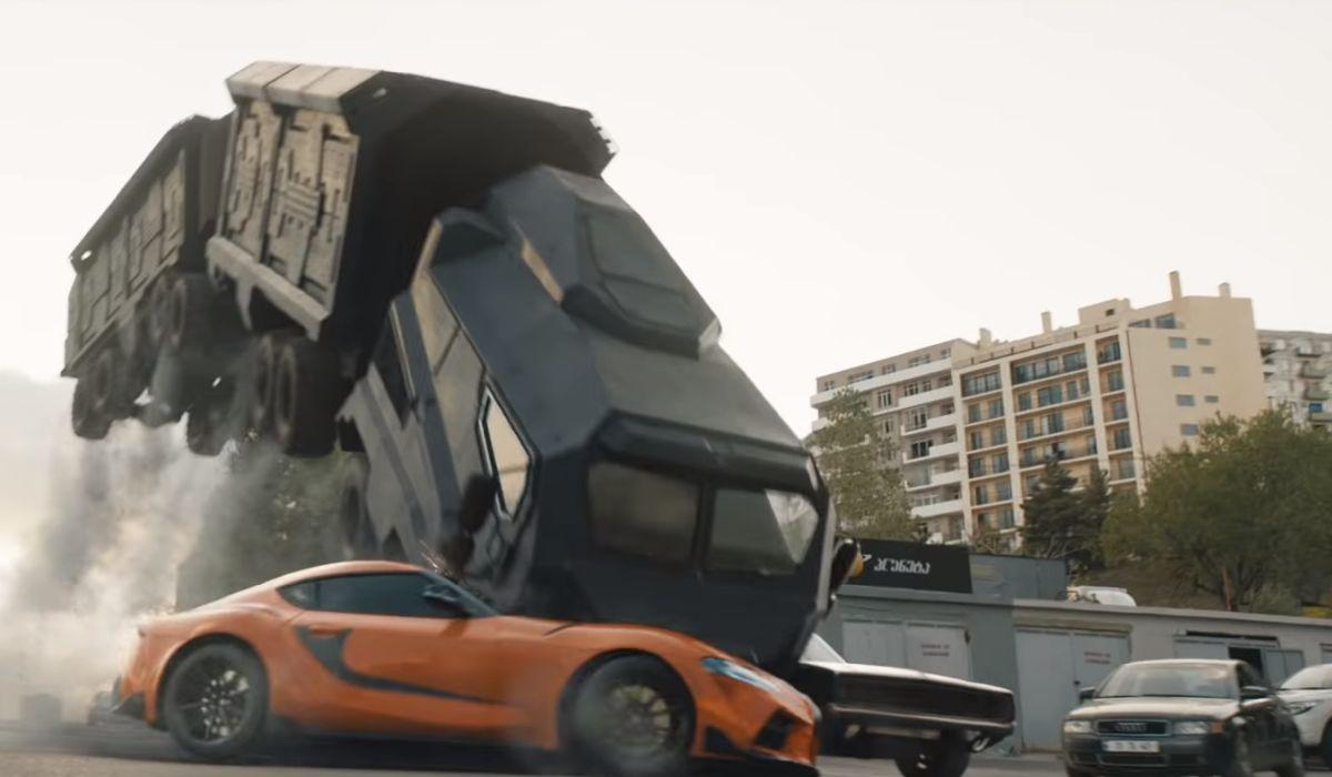 F9 stunt with John Cena 2021
