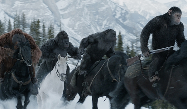 War For The Planet Of The Apes Caesar Maurice Rocket