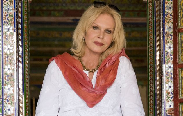 JOANNA LUMLEY INDIA