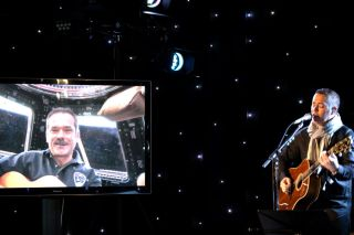 Chris Hadfield Sings with Barenaked Ladies' Ed Robertson