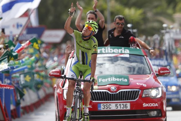 Alessandro De Marchi wins stage seven of the 2014 Tour of Spain
