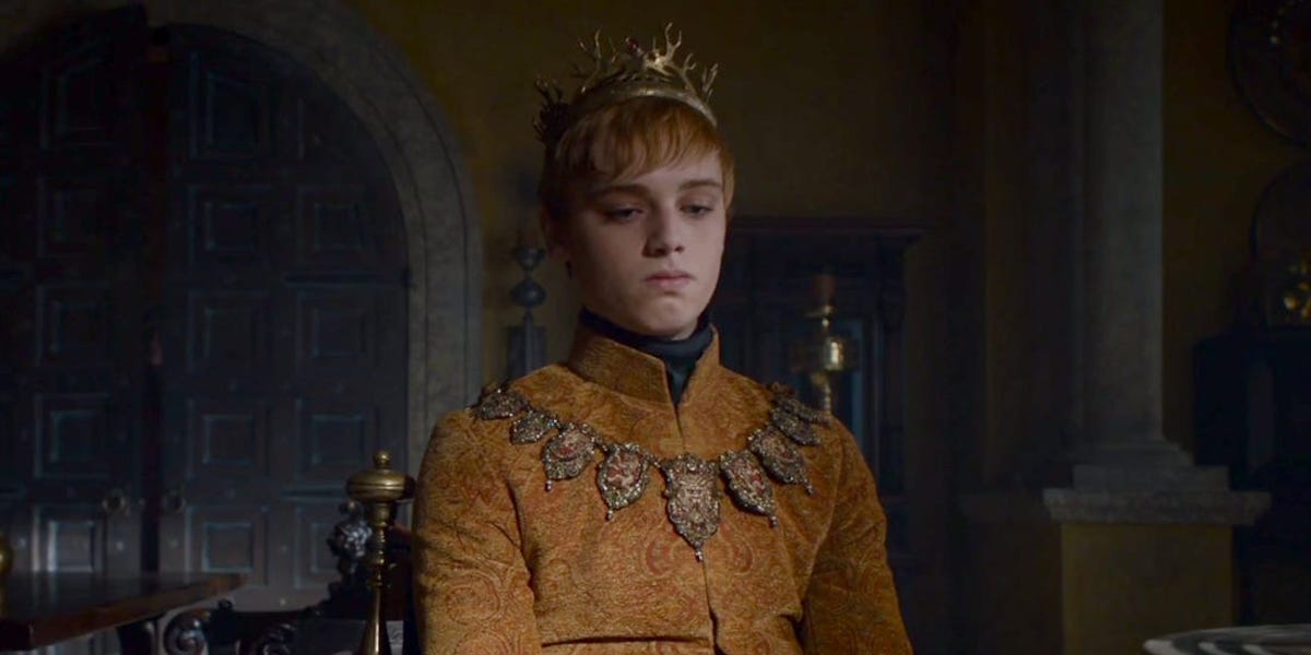 game of thrones tommen Dean-Charles Chapman hbo