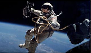 Ed White, space walk