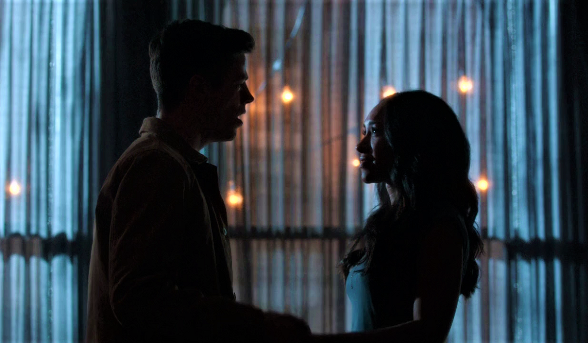 barry and iris musical proposal runnin' home to you