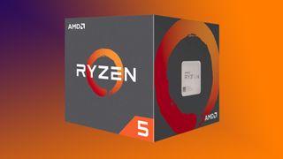 AMD Ryzen 5 1600 CPU box