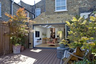 small house extension ideas for terrace