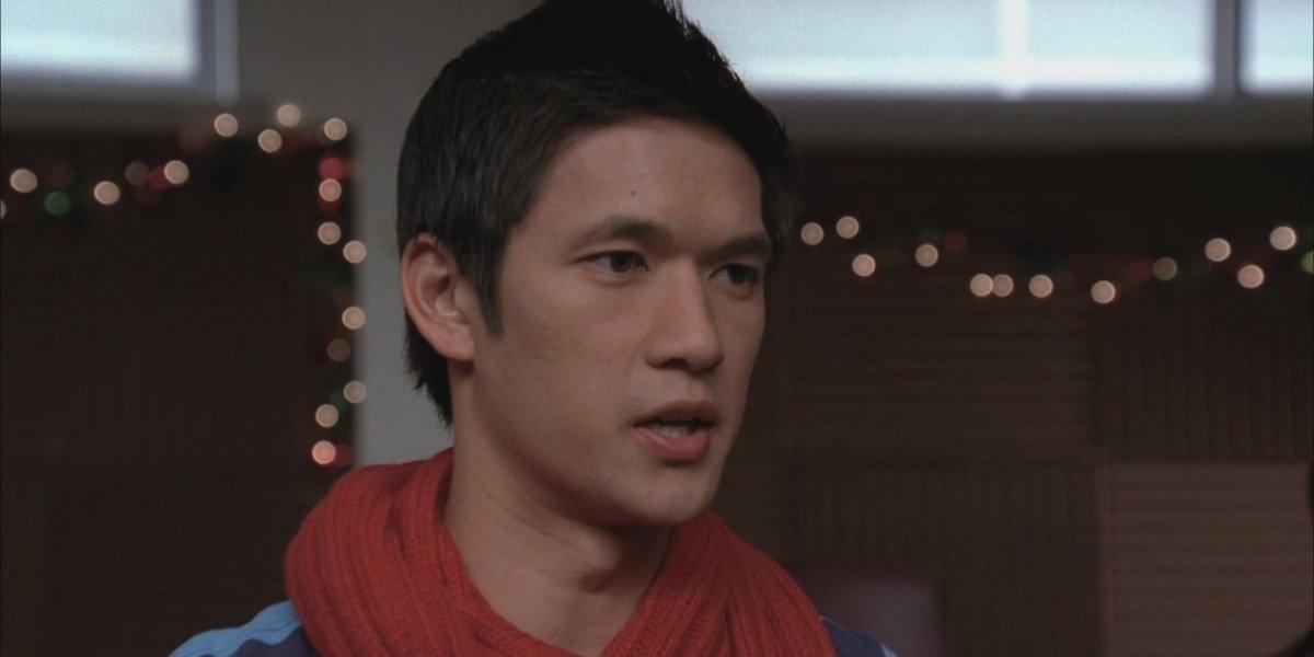 Harry Shum Jr. as Mike in Glee