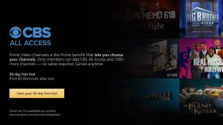 CBS All Access on Amazon Prime Video Channels