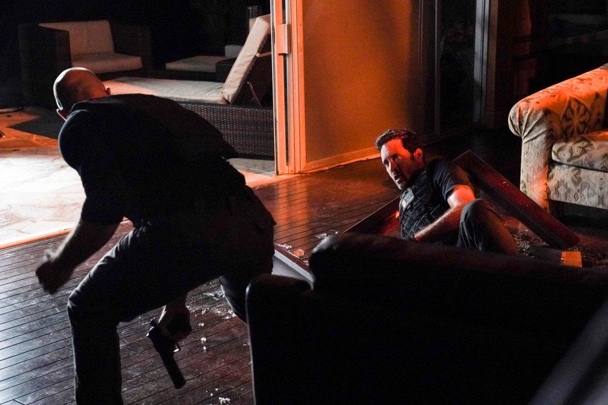 Hawaii Five-0 Season 10 Premiere Alex O'Loughlin Steve McGarrett fights CBS