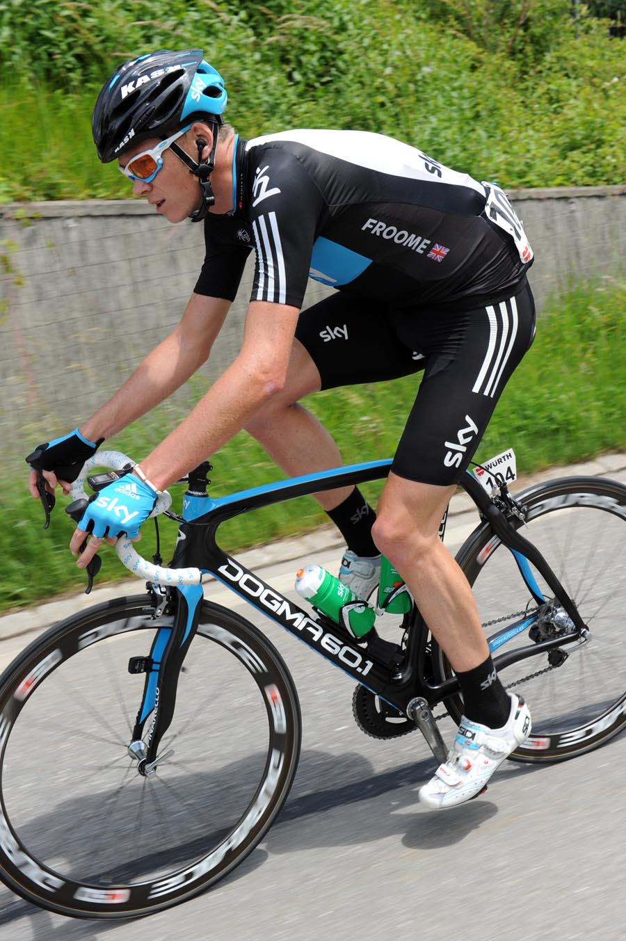 Chris Froome, Tour de Suisse 2011, stage four