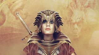 Female fantasy warrior character